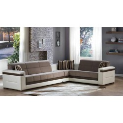 MOON SECTIONAL - Zigana Gray