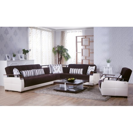 NATURAL SECTIONAL - COLINS BROWN