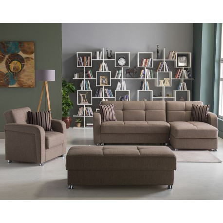 VISION SECTIONAL - Reydeyef Brown